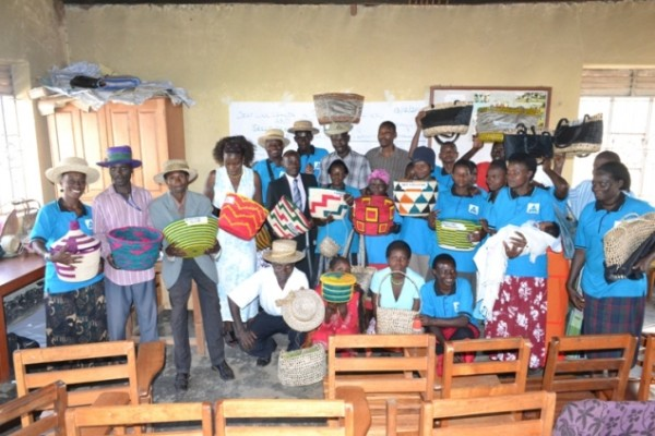 Handicrafts from deaf in Uganda