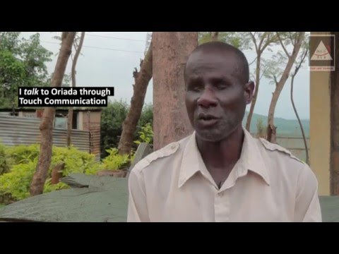 Blind man educates deaf students