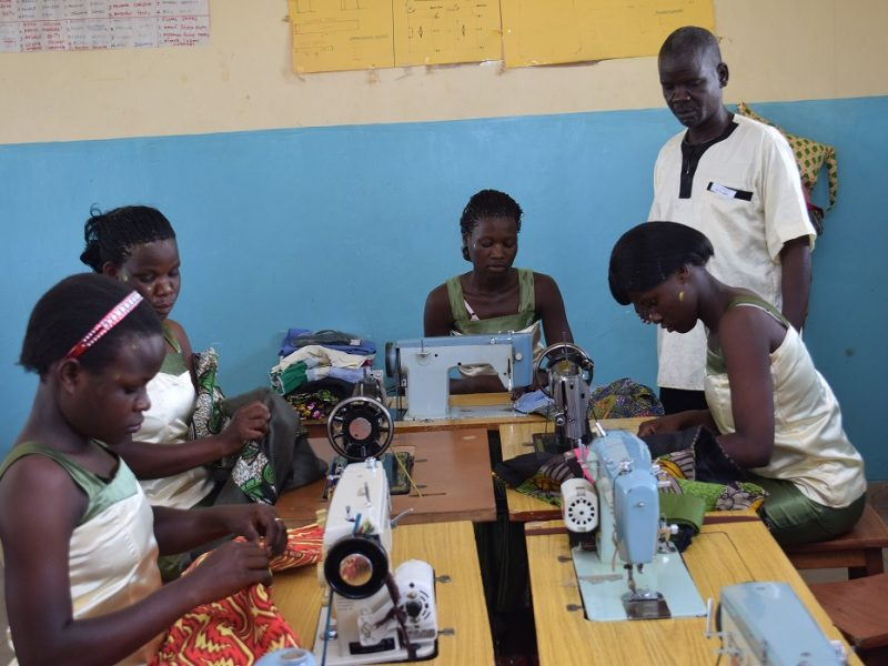 Women with tailoring skills