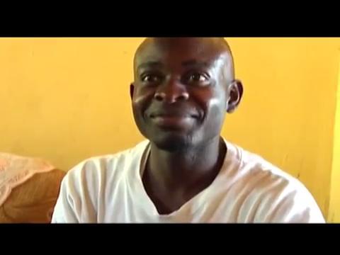 Julius is deaf, works as a carpenter