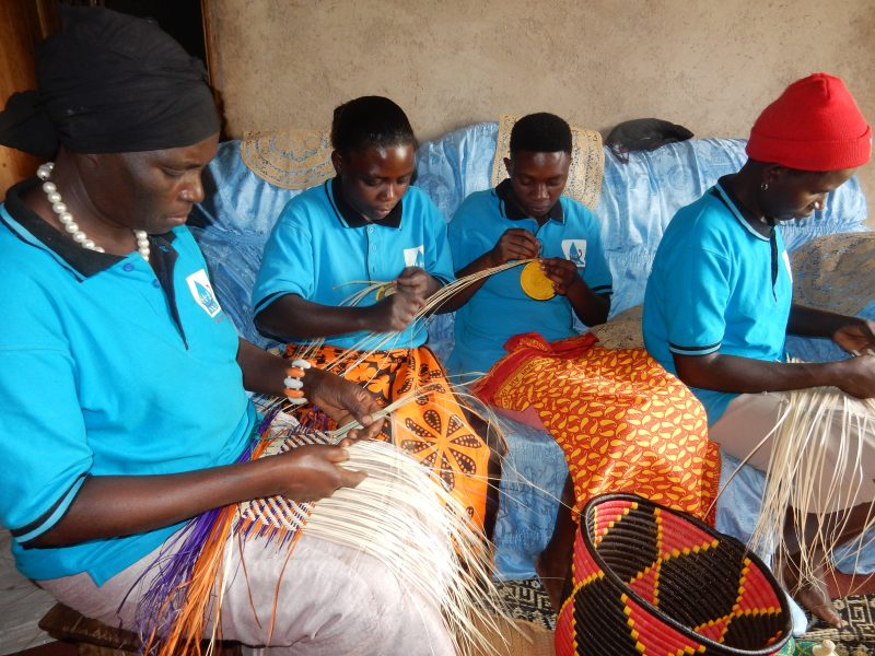 Women at Work in Fort Potal Uganda