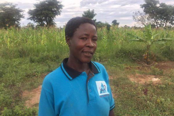 Akol is a deaf farmer.
